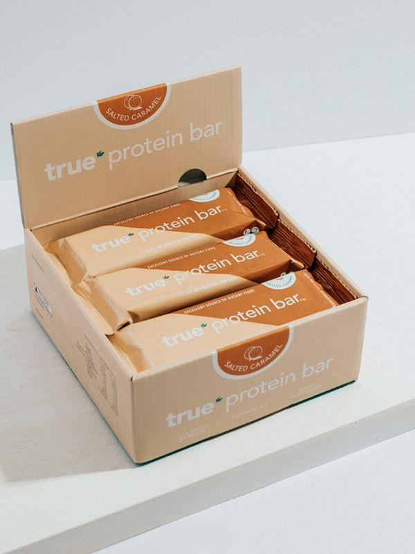 BOX OF 12 - PROTEIN BAR [Flavour: Salted Caramel] [Size: 12 Bar Box]